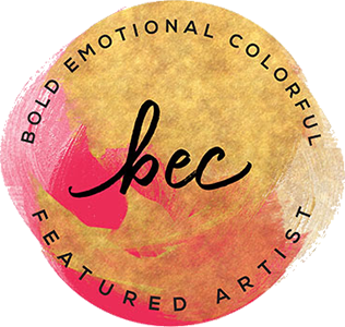 Bold Emotional Colorful Featured Artist