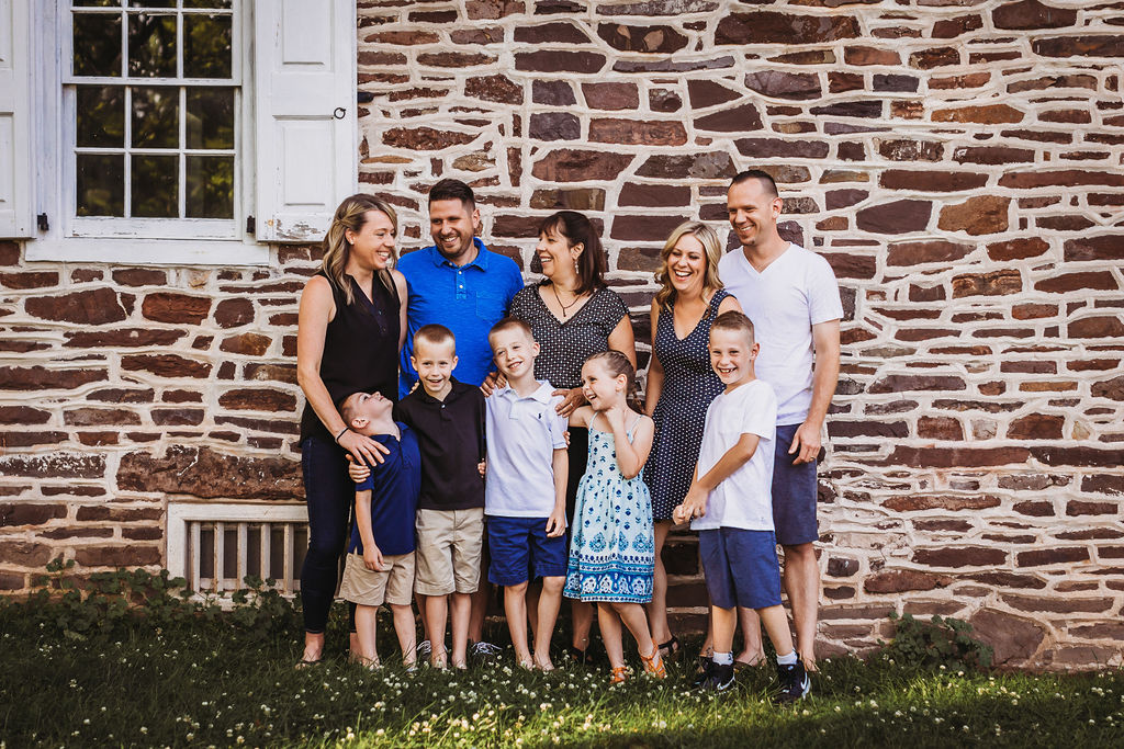 Bucks County Extended Family Photo Session